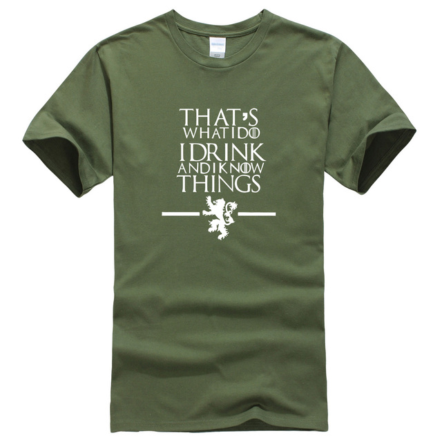 Summer Game of Thrones T-shirts