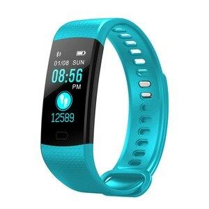 Image 5 - Smart Armbanden Sport Polsband Mens Smart Pols Klok Pedometre Horloge Hartslagmeter Voor Android 5.1 Voor IOS 8 Of boven