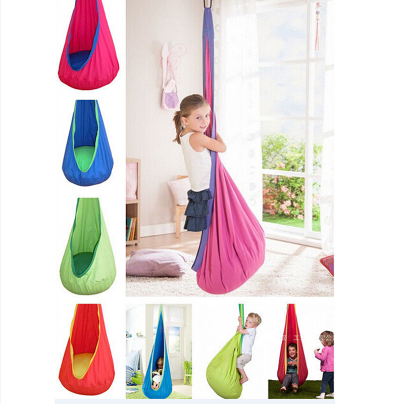 1 Pc Baby Inflatable Hammock Kids Hanging Chair Indoor/Outdoor Child Swing Chair with Inflatable Cushion H1339(China (Mainland))