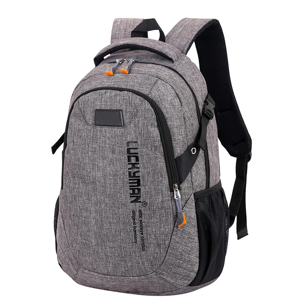 Fashion Causal Waterproof Backpack Canvas Travel Bag Backpacks Unisex Laptop Bags Designer Student Bag Mochila Masculina