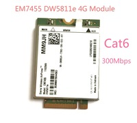 EM7455 DW5811e LTE FDD LTE TDD 4G Module 4G Card Cat6 For Dell Laptop PN MM9JH|cat6| |  -