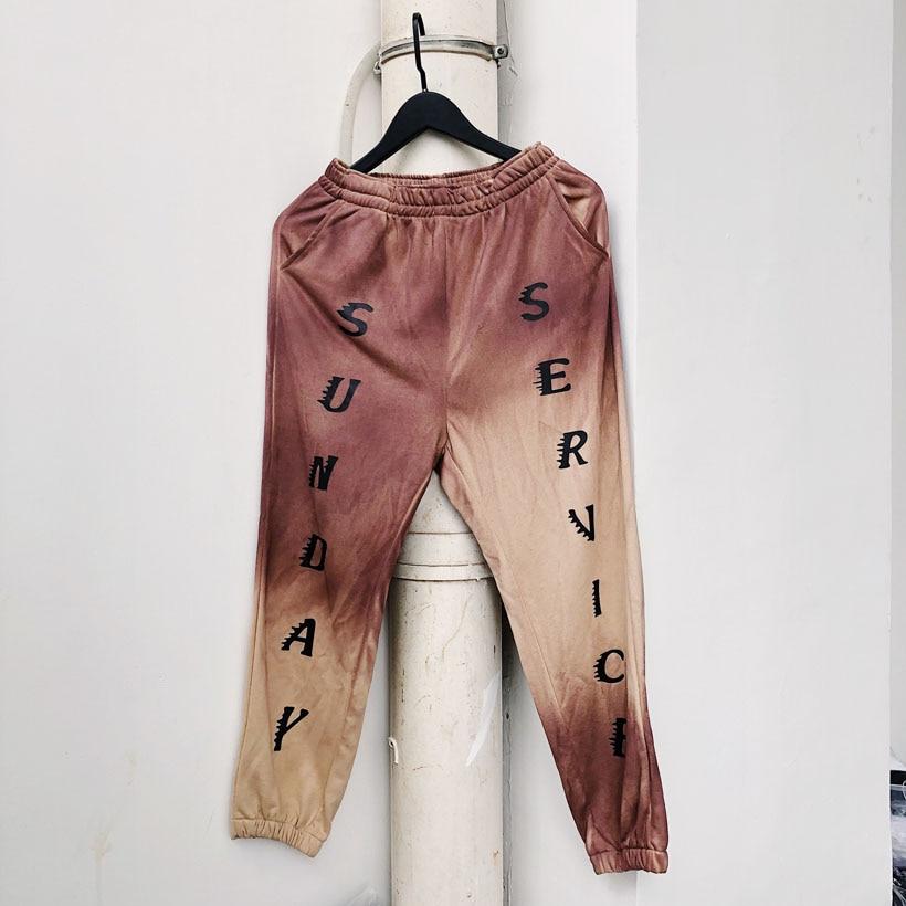2019 Kanye West Sunday Service CPFM Sweatpants Trousers Streetwear Hip Hop Kanye West Sports Pants Mens Women Sweatpants