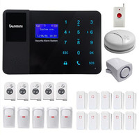GSM сигнализация Системы с дымом Сенсор 5PIR Детектор 10 дверной контакт 5 пульт дистанционного управления