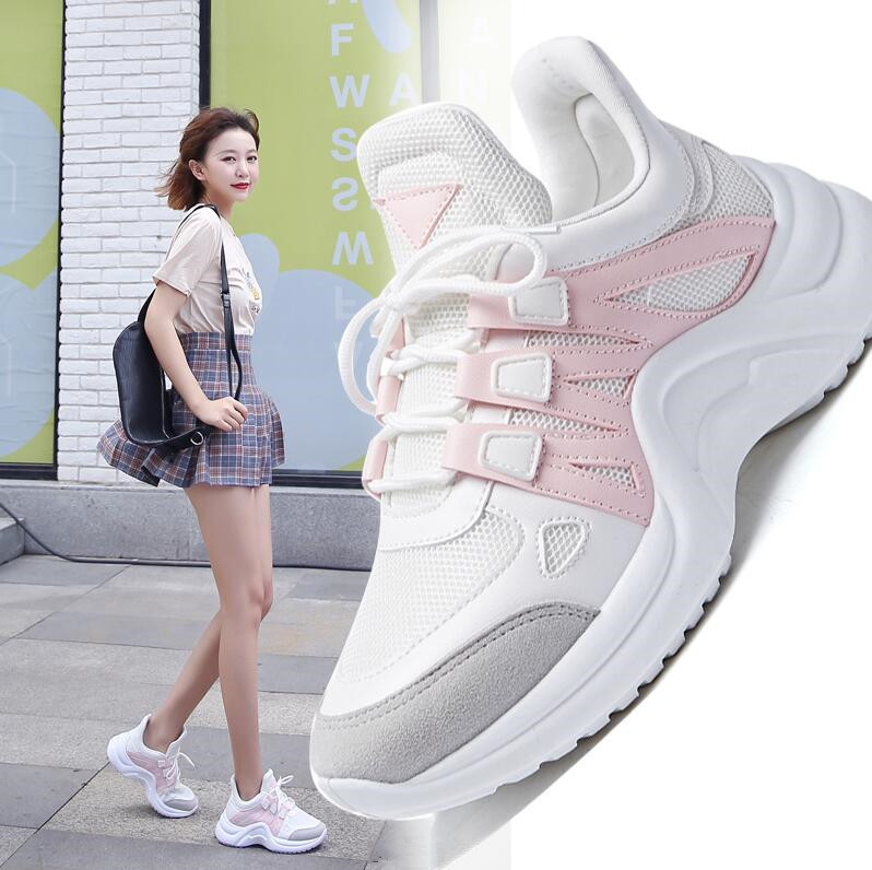 New Sneakers Women Comfortable Running Shoes Outdoor Shoes Woman Height Increase Sports Shoes For Women Ins Footwear Size 35-43