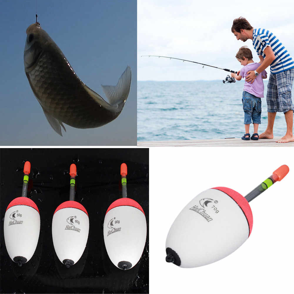 1Pcs 9 ขนาดตกปลาตกปลา EVA คุณภาพสูง Luminous FLOAT ปลาเหยื่อตกปลาทะเลอุปกรณ์ตกปลาปลาคาร์พพลาสติก #45