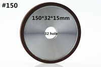 Jrealmer 150 32 15mm 150 Diamond Grinding Wheel Processing Saw Blade Cutter Grinder 32mm Hole