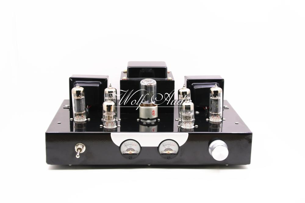 2017 New Finished 6N2+6P1+5Z4PA push-pull Tube Amplifier Class A HiFi Amplifier new 6n2 push 6p1 class a hifi vacuum tube amp amplifier diy kit