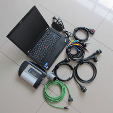 Newest for SD Connect Compact 4 + Star Diagnosis C4 2017.09v Software in HDD + T410 Laptop (i7,4g) for mb diagnostic tool