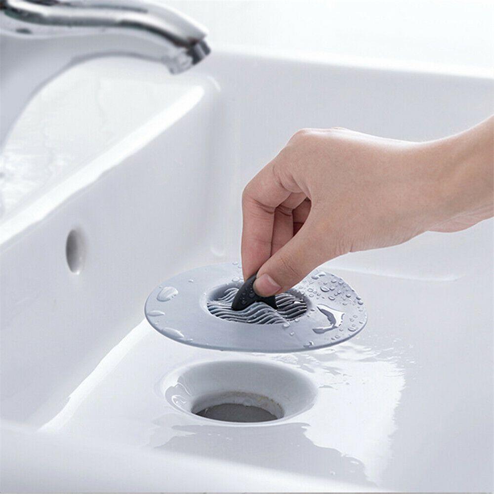 Kitchen Sink Strainer Stopper Sink Filter Sewer Drain Hair Colander Bathroom Cleaning Tool Kitchen Sink Accessories