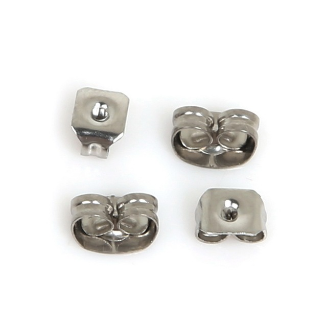 Hot Ing Stainless Steel Earring Hook Earrings Clasp Findings For Stud Fashion Jewelry Making
