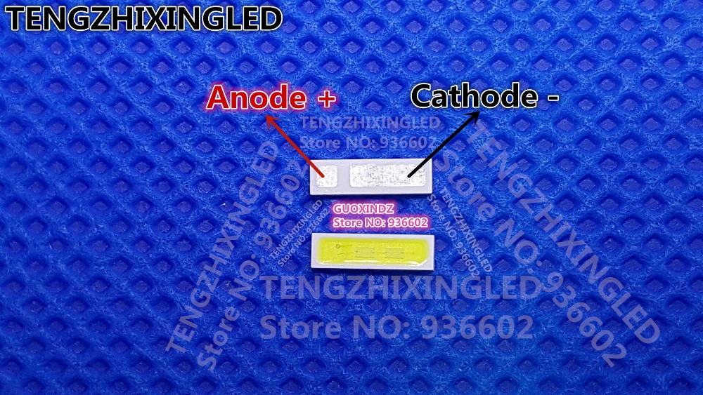 For HISENSE LED LCD Backlight TV Application EVERLIGHT LED Backlight 1W 6V 7020 Cool white LCD