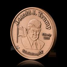 donald trump coin antique copper coins collecting Commemorative coins People coins series