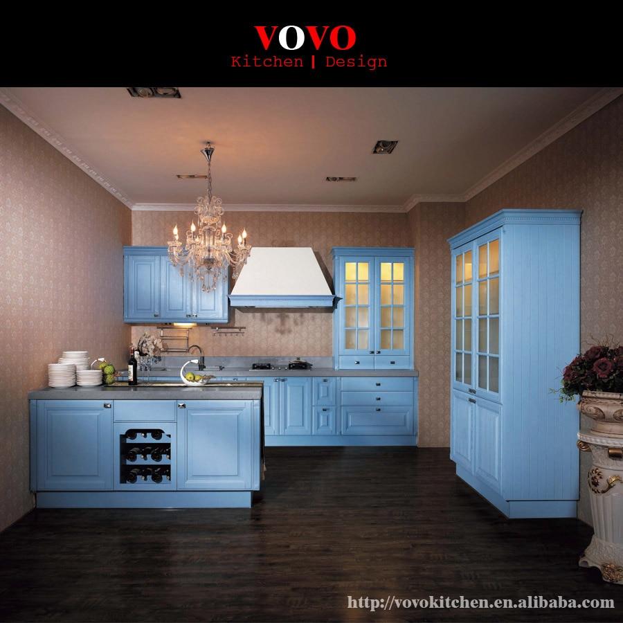 American modern style solid wood kitchen cabinet design-in Kitchen ...