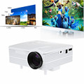 2016 Genuine Prateleiras Em Breve H80 LCD de Imagem de Sistema Full HD Home Theater Cinema 80 Lumens Mini LED Projector com AV/VGA/SD/USB/HDMI
