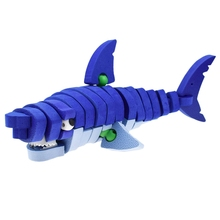 3d Three-Dimensional Animal Jigsaw Puzzle Toys For Children Diy Handmade Puzzles Animals