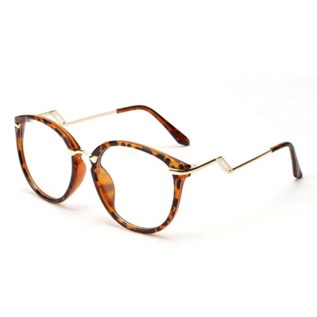 ee3bee0946535 Óculos de nerd quadro óculos vogue rodada semi óculos de armação de ...