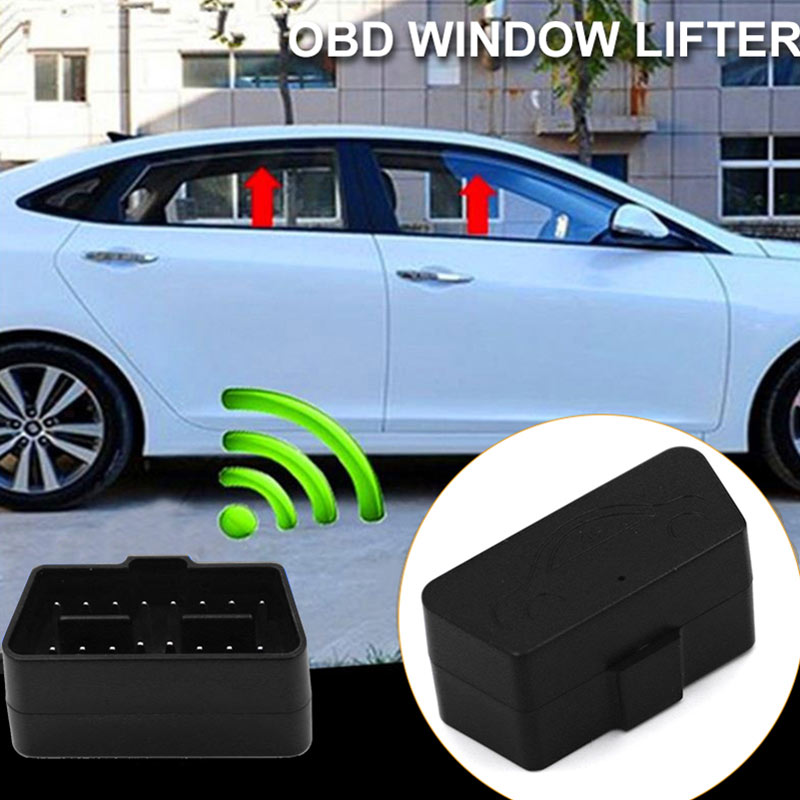 VEHEMO Car Window Closer Open OBD Automotic Remote Control Alarm Protector Car Accessories For VW Golf7 Touran Touareg Octavia