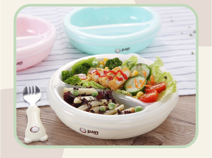 Food Warming Plate Injection Hot Water Insulation Cup Tableware Kids Sucker Feeding Bowl Filling Water Dish Bowl