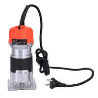 New 620W 220V Wood Trim Router 6.35mm Collection Diameter Electric Manual Trimmer Woodworking Laminated Palm Router Woodworking
