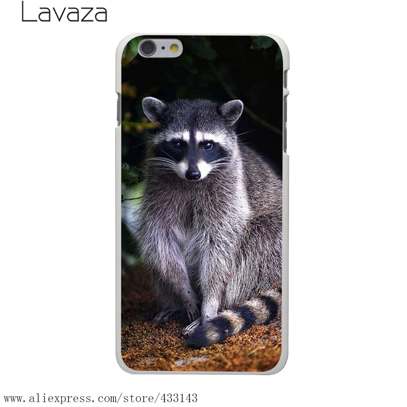aliexpress com buy lavaza fashion raccoon art print hard white