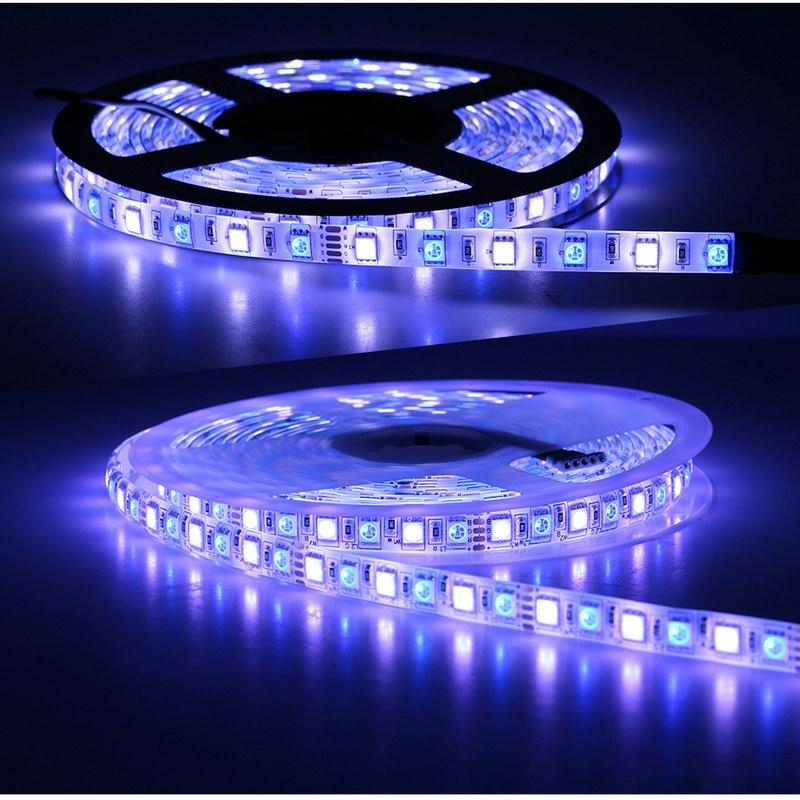 LED Strip 5050 RGBW DC 12V 24V Flexible LED Light RGB White RGB Warm White 60 LED m 96 LED m 5m lot in LED Strips from Lights Lighting