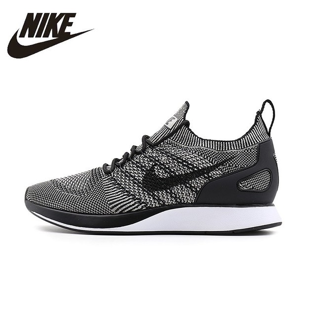 Nike Air Zoom МЭРАЙИ Flyknit Для мужчин S Кроссовки сетки дышащий легкий Поддержка спортивные Спортивная обувь для Мужская обувь #918264-003