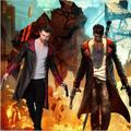 Dmc devil may cry 5 dante costume cosplay jacket unisex coat halloween costume PU Leather Jacket + vest Cosplay Costume