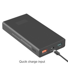 15000mA fast charge powerbank External Mobile Backup Power bank Battery with QC 3.0 quick charger for iPhone5 6 6s Samsung