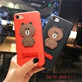 Case For Iphone 6 / 6s / 7 / 6plus / 7plus 2017 New cute cartoon shell all-inclusive wrestling protective cover I 6 7 S Plus