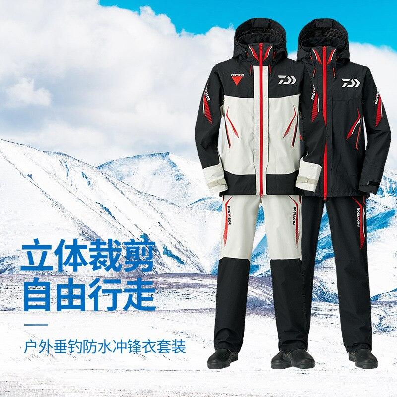 2018 DAIWA nouveau printemps et automne DR-1508 veste parka costume DAIWAS imperméable crème solaire respirant GORE-TEX DAWA livraison gratuite