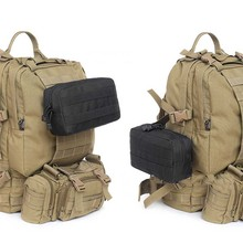цена на Outdoor package EDC multi-function tactical package 600D nylon Army fan package MOLLE system accessory package