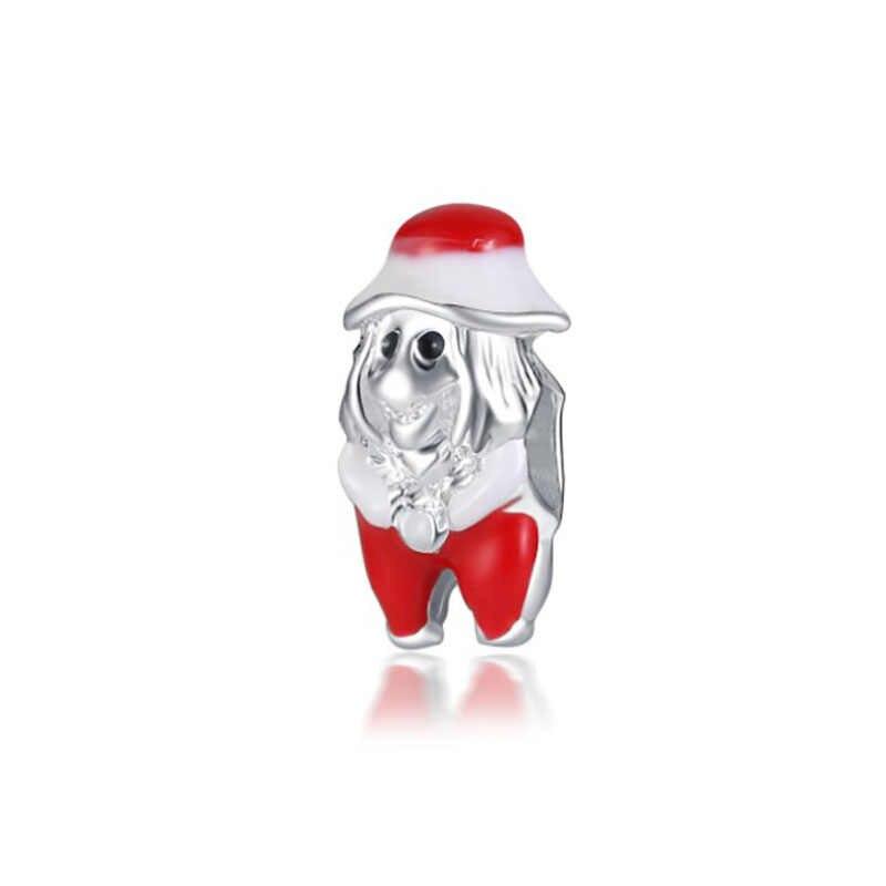 Fit Pulsera Pandora Charms เงิน Plata De Ley 925 สร้อยข้อมือลูกปัดสำหรับเครื่องประดับทำแฟชั่น Bijoux Sieraden Charm