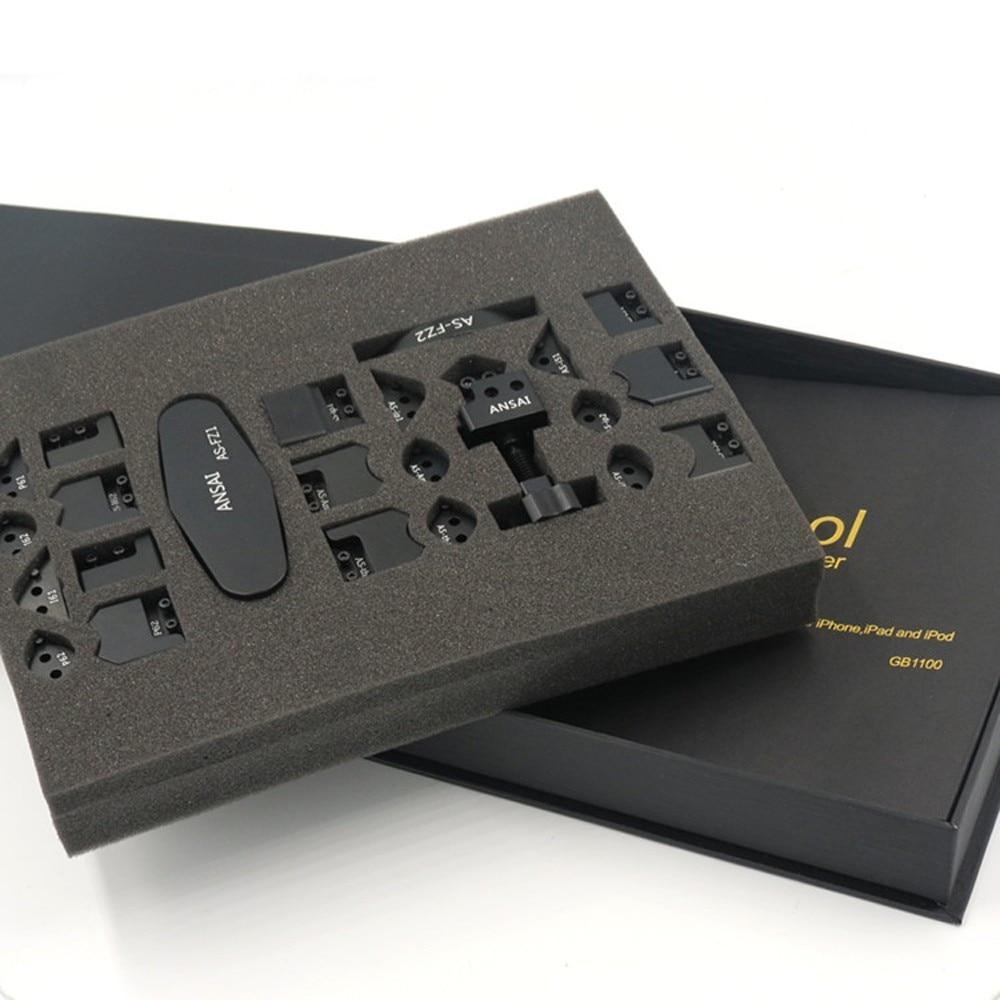 26 в 1 GB1100 ICorner комплект для IPod IPad IPhone 5 5S 6 6plus 6s угловая боковина изгиб исправление рамка Ремонт набор инструментов
