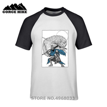 Funny Dark Souls Knight of the Abyss T Shirt men jollypeach white casual tshirt homme Short Sleeve Tshirt Plus Size mens T-shirt