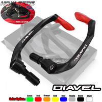 Universal 7/8 22mm Motorcycle Handlebar Brake Clutch Levers Protector Guard For Ducati Diavel
