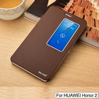PU Leather Case For Huawei Honor X2 Luxury Flip Phone Coque Stand Cover For Huawei MediaPad