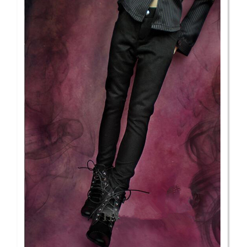 Black Retro Harem Pants Trousers For Men BJD 70cm SD17 Uncle AOD AS dollfie