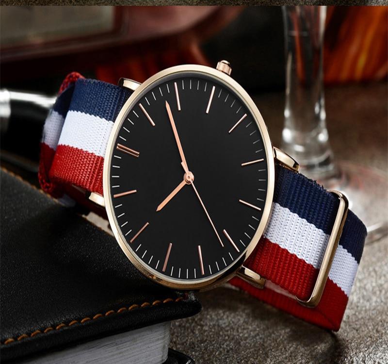 Nowe mody kobiet zegarek nylonowy pasek NATO biznesu na co dzień - Zegarki damskie - Zdjęcie 1