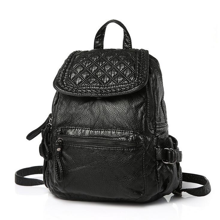 stacy bag 091816 hot sale lady fashion PU backpack