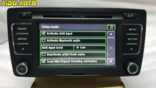 AIDUAUTO FOR Skoda PQ Octavia Yeti Radio Stereo RCD510 USB MP3 USB AUX 6 Changer CD Player цена в Москве и Питере