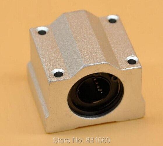 4pcs/Lot SC20UU SCS20UU 20mm Linear Ball Bearing Linear Motion Bearing Slide For CNC Brand New 4pcs new for ball uff bes m18mg noc80b s04g