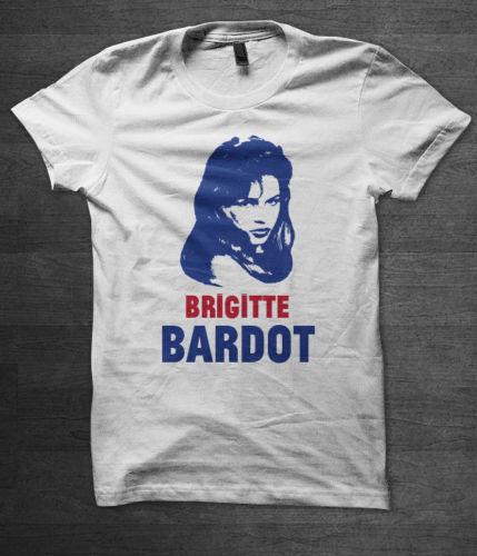 Brigitte Bardot T shirt film movie serge gainsbourg french