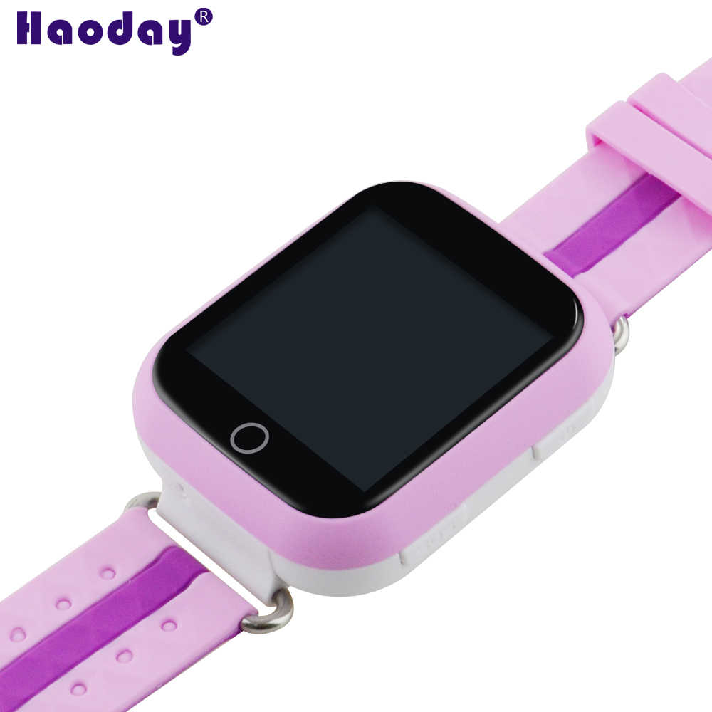 Baby Multi-function GPS Tracker Watch Anti-Disturb in Class With Wifi 1.54 inch Touch Screen Q100 Real-time Tracker for with Box