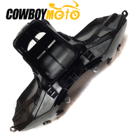 Motorcycle Ram Air Intake Tube Duct + Headlight Stay Bracket For HONDA CBR600RR CBR 600RR 2007 2008 2009 2010 2011 2012