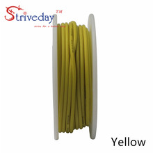 6 meters (19.6ft) 22AWG high temperature resistance Flexible silicone wire tinned copper wire RC power cord Electronic cable DIY heating wire high temperature nickel chromium resistance wire hot plates parts 1000w high quality
