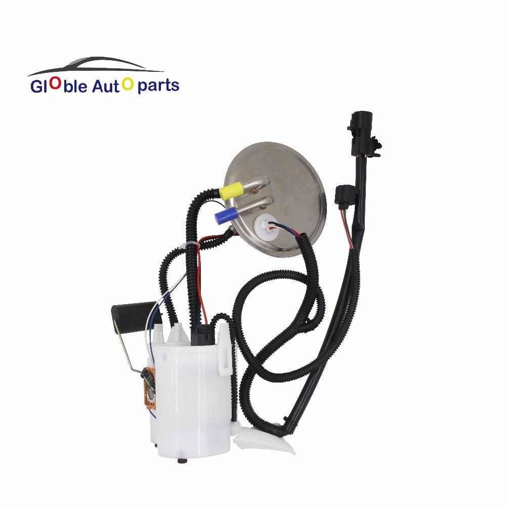 12V New Electric Fuel Pump Module Assembly w/Level Sensor Sending Unit For 1999 Ford Taurus Mercury Sable 3.0L E2243M F1254A  new gasoline fuel pump center tank assembly airtex e2243m fit for ford taurus