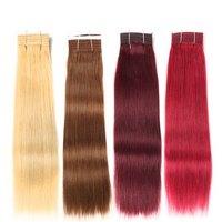 Предварительно Цветной Синтетические волосы соткут