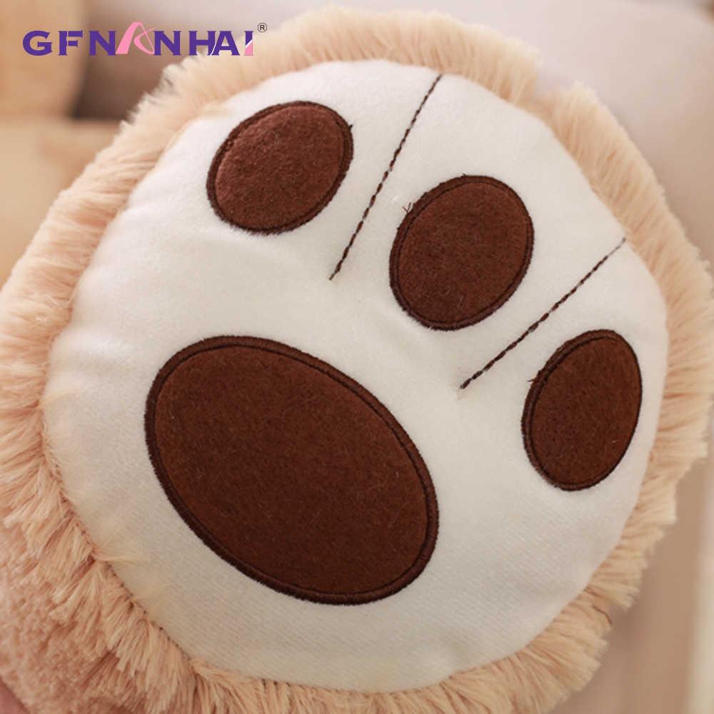 1 шт. 100 см Американский гигантский медведь плюшевая игрушка милый плюшевый мишка животные куклы набивные игрушки для детей девочек подарок на день рождения