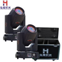 2018 hot High Quality/power spot wash moving head light beam 350 17r fly case Factory Supply