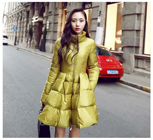 New Korean Style Fashion Women Winter Down jacket High quality Big yards Slim Thickening Stand collar Super Warm Coat G1774